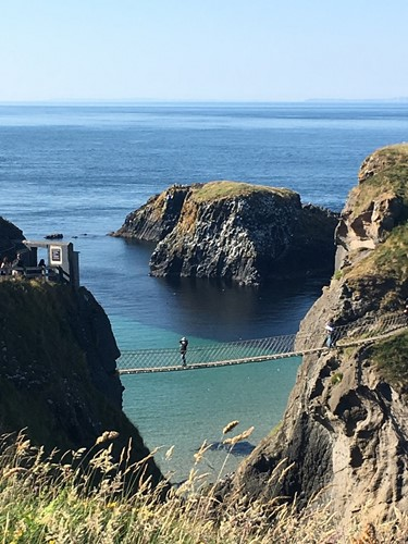 The rope bridges at Carrick-a-Rede